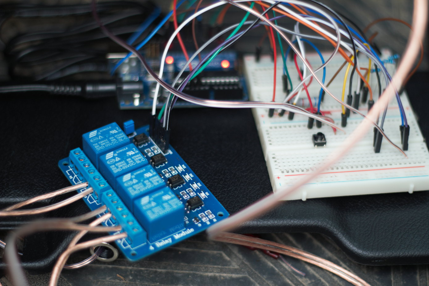How To Install A Start Button Civic Junkie Arduino Relay Wiring Module And Proto Board