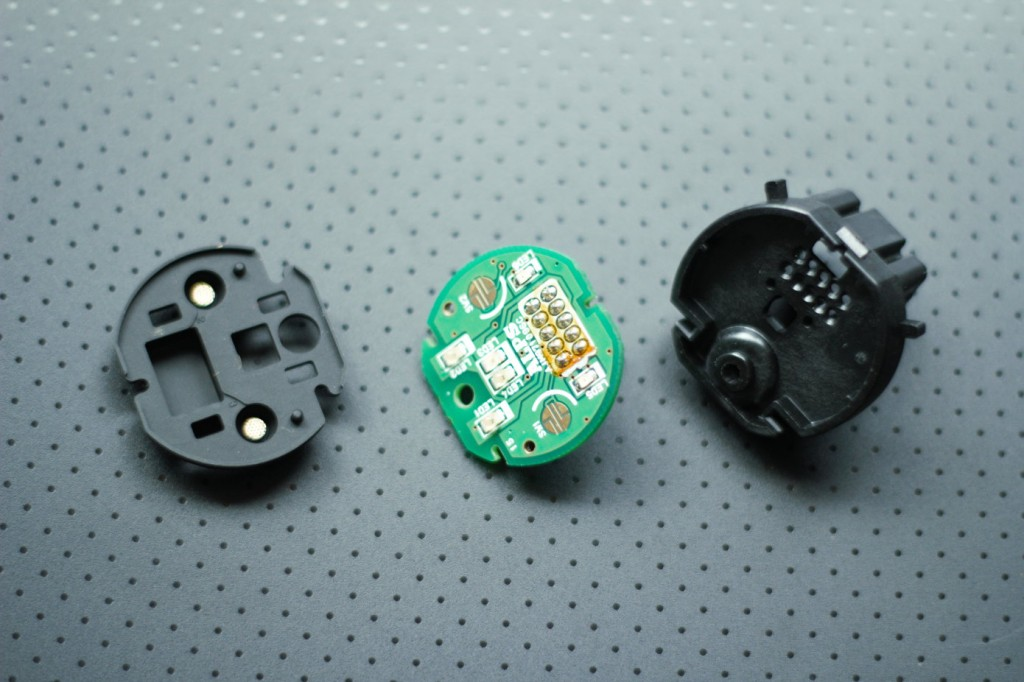 Pieces of the Mazda 3 start button