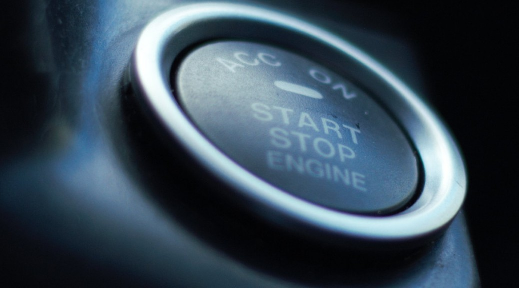 start button in Honda CRX
